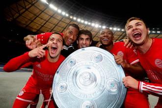 «Бавария» стала чемпионом Германии за семь туров до финиша
