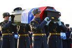 В Москве прошла церемония прощания с погибшими в результате крушения Ту-154