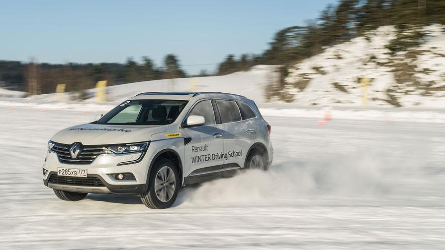 Второй участник тест-драйва Renault Koleos