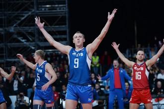 Сборная России вышла в финал чемпионата Европы
