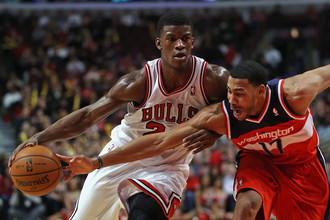 «Чикаго» уступил «Вашингтону» в матче регулярного чемпионата НБА