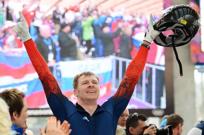 Двукратный олимпийский чемпион, майор ВС РФ