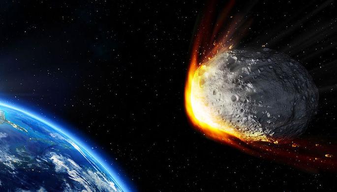 Опасный астероид размером с дом приблизился к Земле
