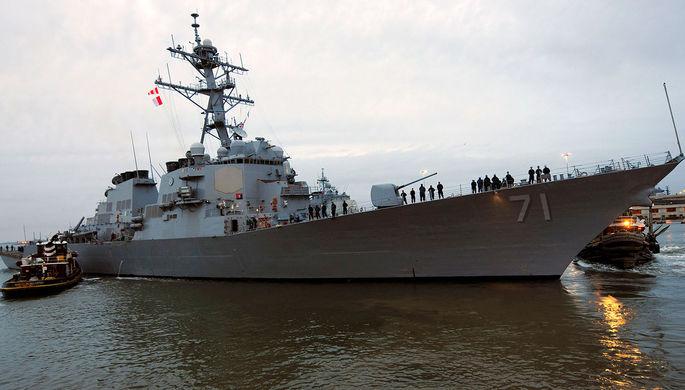 В восьмой раз за год: эсминец США зашел в Черное море
