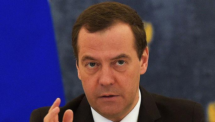 Дмитрий Медведев на заседании правительства в резиденции «Горки», 30 марта