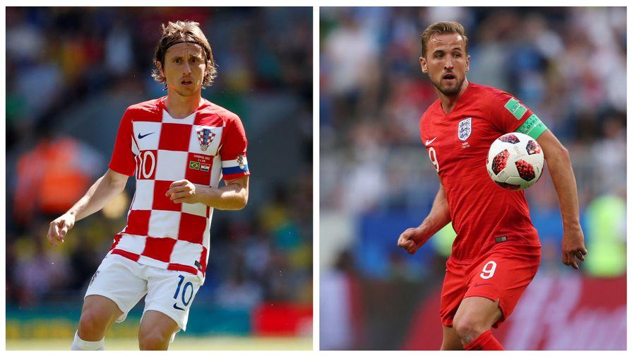 Сборные Хорватии и Англии встретятся в полуфинале ЧМ-2018