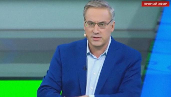 «У вас недержание?»: ведущий НТВ обматерил эксперта с Украины