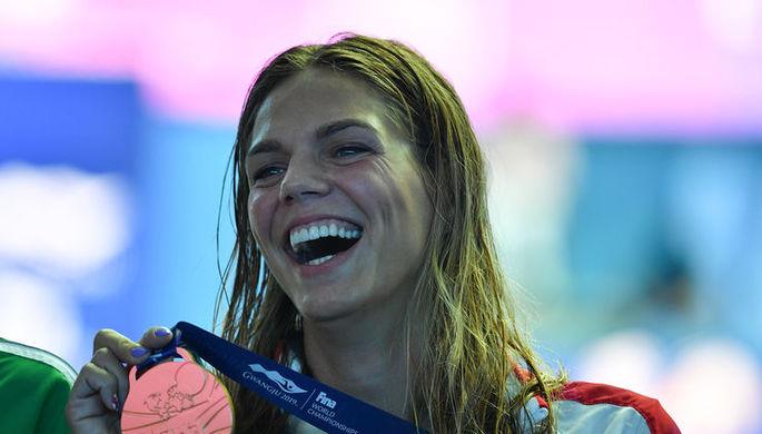 Российская пловчиха Юлия Ефимова