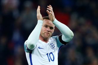 Уэйн Руни не успел стать рекордсменом сборной Англии по числу проведенных матчей