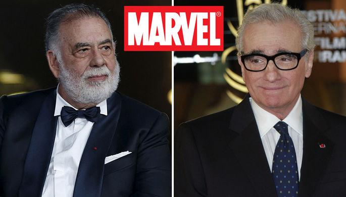 «Омерзительно»: Коппола поддержал Скорсезе в критике Marvel