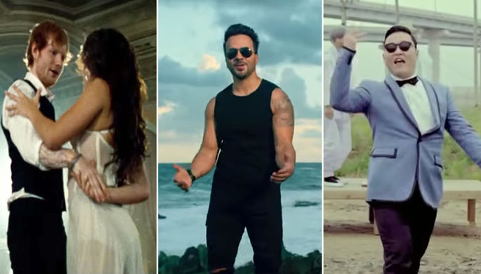 «Despacito», Эд Ширан и «Gangnam Style»: названы клипы десятилетия