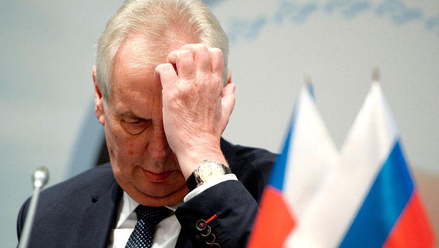 Земан допустил отмену визита в Москву на День Победы