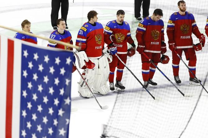 Построение сборной России после матча с США
