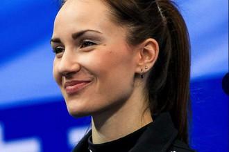 Капитан женской сборной России по керлингу Анна Сидорова