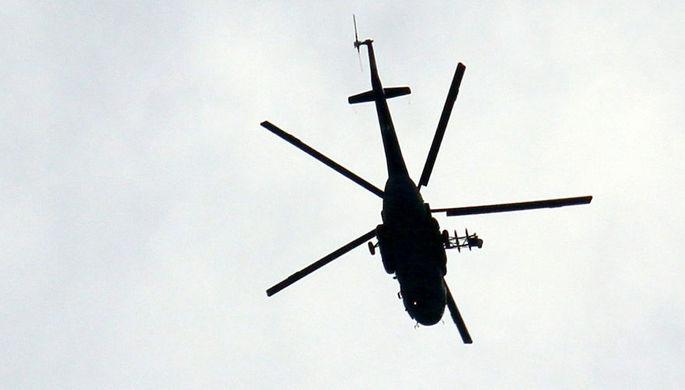 """ФСО отказалась комментировать кадры с военными вертолетами над Кремлем"""""""