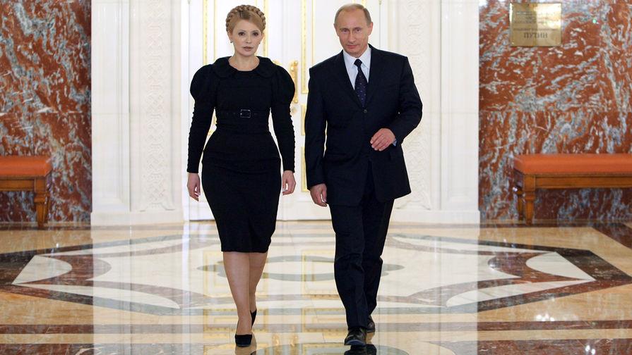 Тимошенко намерена встретиться с Путиным в случае победы на выборах
