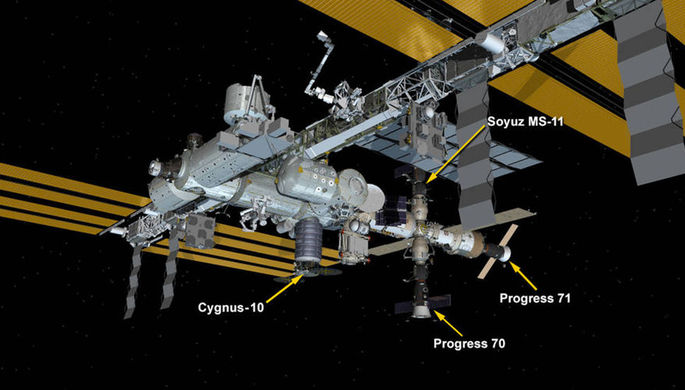 На МКС вслед за скафандром сломалась батарея