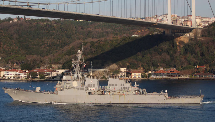 Американский «Росс»: зачем США отправили эсминец в Черное море