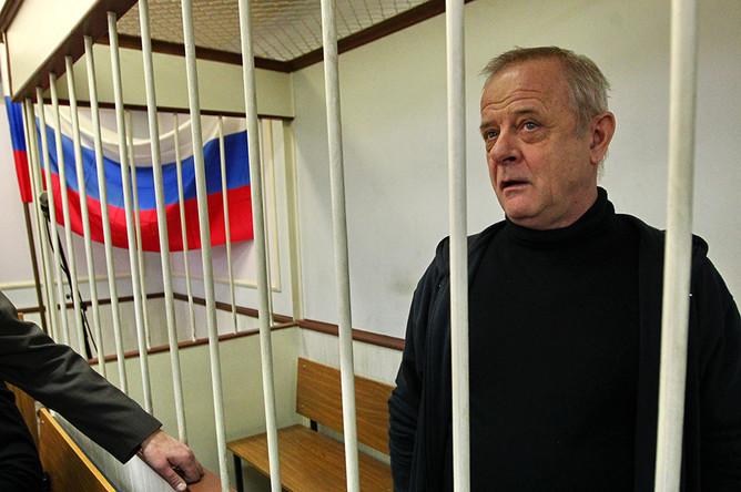 Владимир Квачков, обвиняемый в содействии терроризму и подготовке вооруженного мятежа