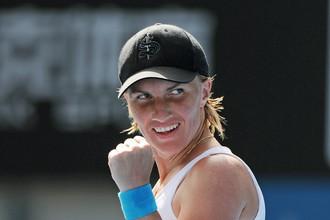 Светлана Кузнецова вышла в четвертьфинал турнира в Сиднее