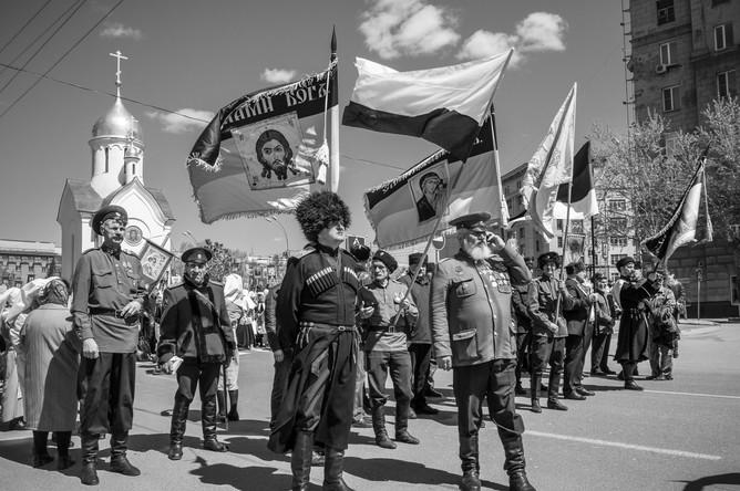Крестный ход, посвященный Дню славянской письменности, Новосибирск