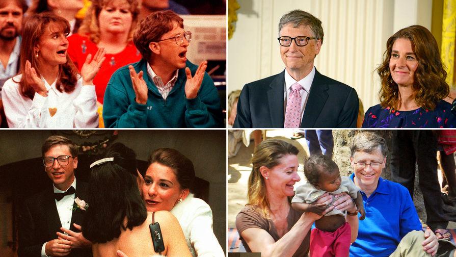 27 лет брака Билла и Мелинды Гейтс. Они развелись