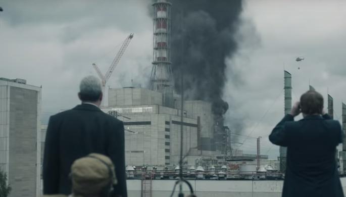Кадр из сериала «Чернобыль» (2019)