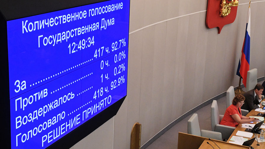 В Госдуме оценили намерение Макрона закончить «санкционную засаду»
