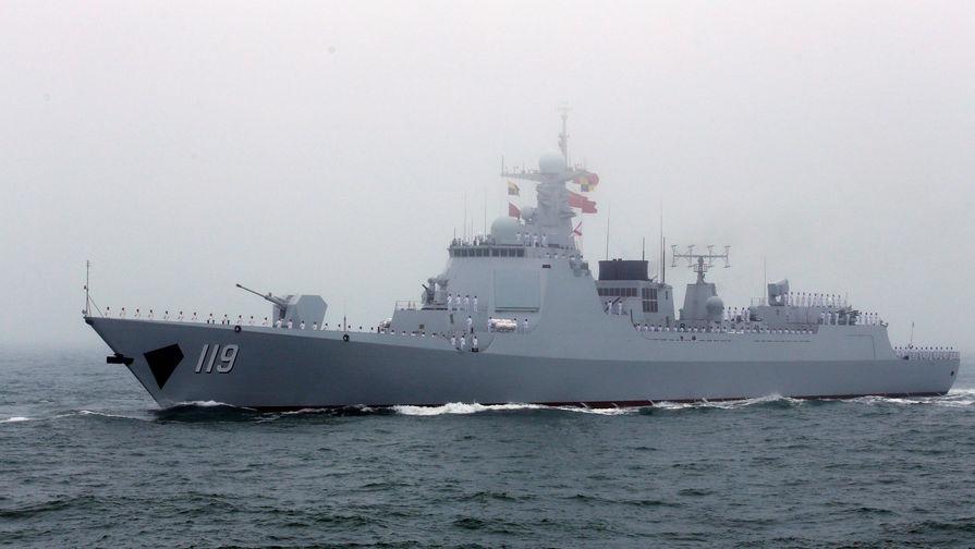 Спорная территория: флот КНР укажет на китайское море