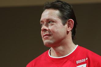 Серебряный призер Олимпийских игр по хоккею с шайбой Павел Буре