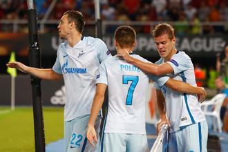 «Зенит» разгромил «Вардар» в первом туре группового этапа Лиги Европы