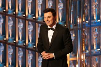 Сет Макфарлейн во время церемонии вручения кинопремии «Оскар» в Голливуде, 2013 год
