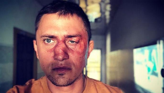 Павел Прилучный во время съемок фильма, 2018 год