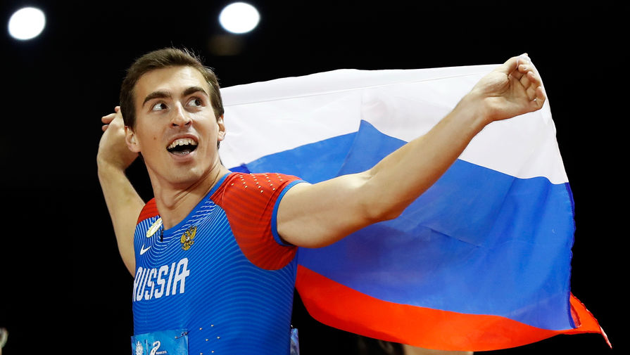 Российский легкоатлет Сергей Шубенков