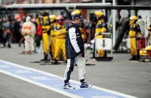 Рубенс Баррикелло не ожидал такого развития гонки