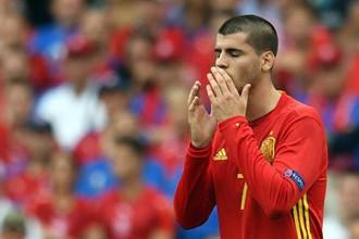 Футболист сборной Испании Альваро Мората