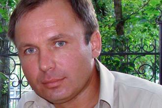 Российский летчик Константин Ярошенко, задержанный в Либерии, 2008 год