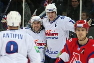 Хотя Малкин не забил, «Магнитка» разгромила «Локомотив»