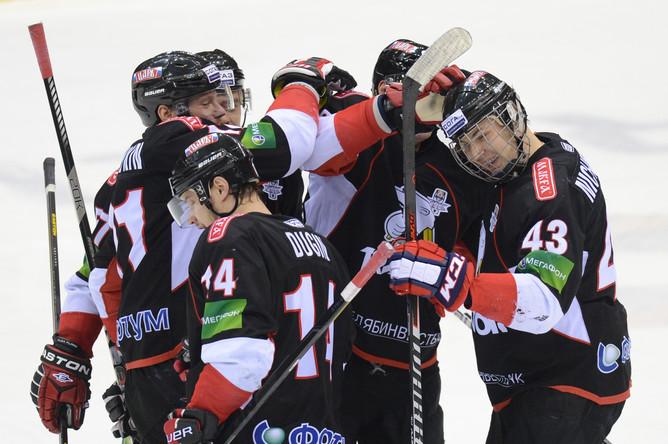 «Трактор» обыграл московское «Динамо» в третьем матче финальной серии