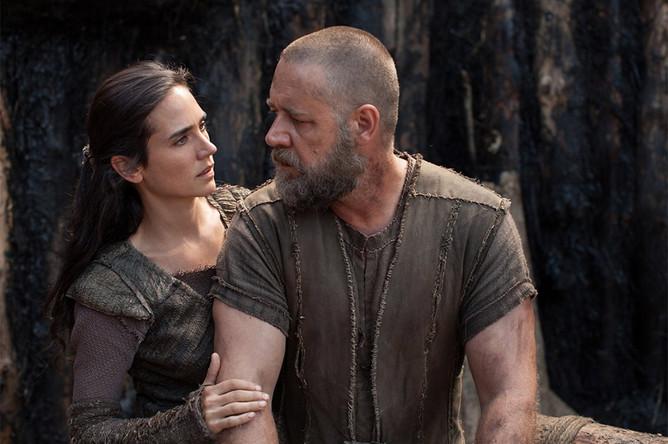 Кадр из фильма «Ной», 2014 год
