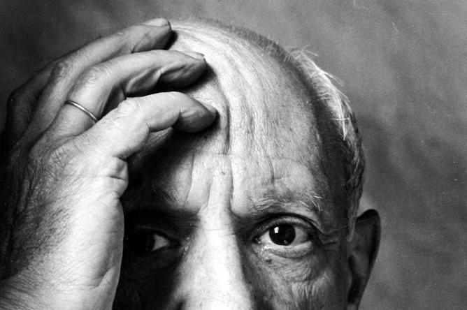 Пабло Пикассо, Валлорис, Франция, 1954