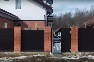 Дом во Владимирской области, где проживали предполагаемые боевики. Скриншот из видеозаписи ФСБ
