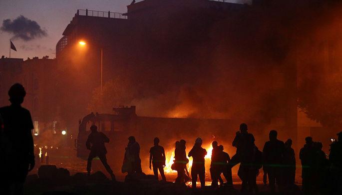 Беспорядки в Ливане: армия освободила здания правительства