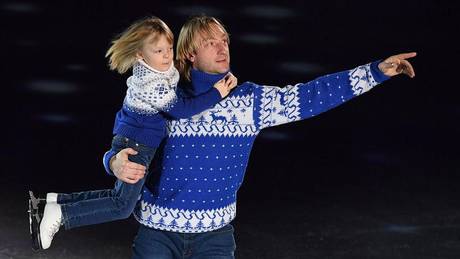 Плющенко сходил в баню с Гном Гномычем: видео