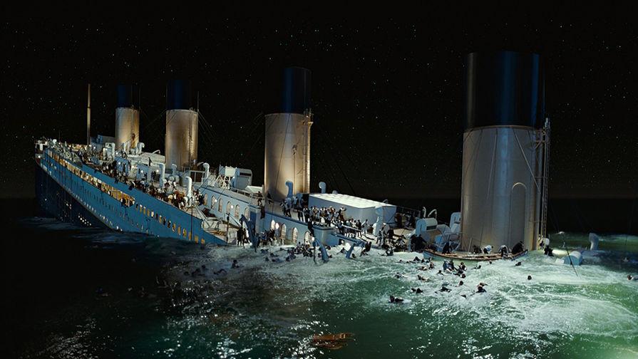 Кадр из фильма «Титаник» (1997)