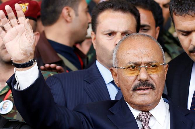 24 августа 2017 года. Бывший президент Йемена Али Абдалла Салех