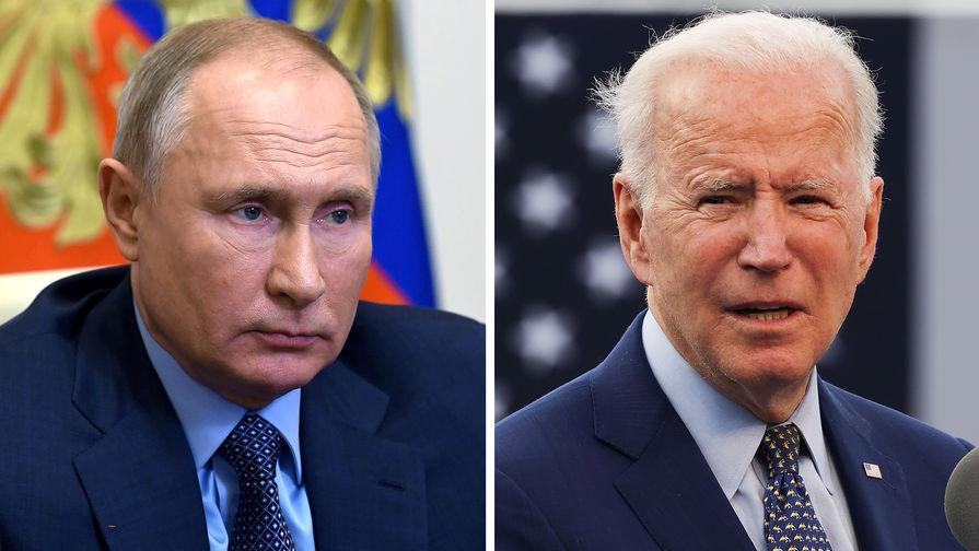 Байден заявил, что встретится с Путиным в июне
