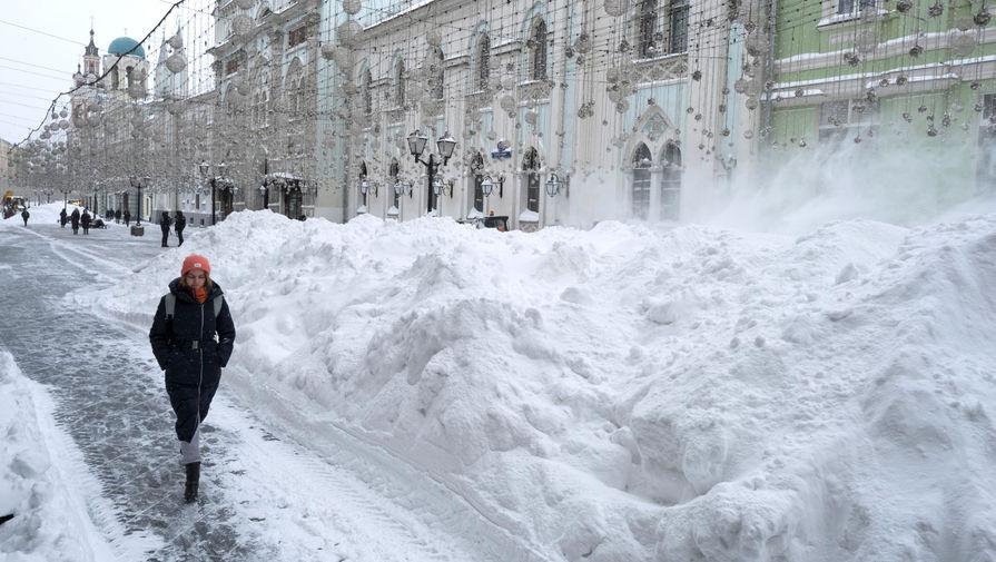 В Москве объявили оранжевый уровень погодной опасности