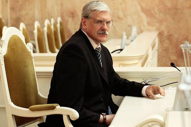 Заместитель председателя законодательного собрания Санкт-Петербурга Павел Солтан