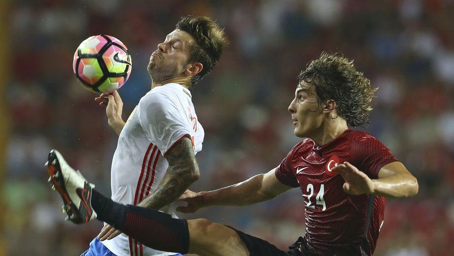 Сборная России сыграла вничью с командой Турции в контрольном матче